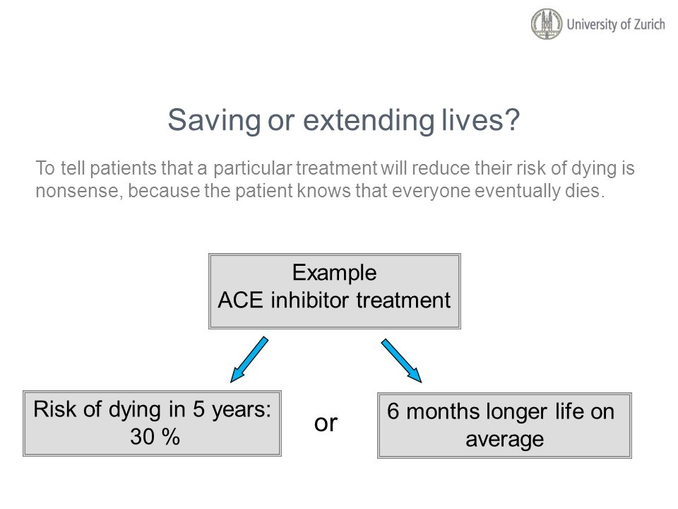 Saving or extending lives