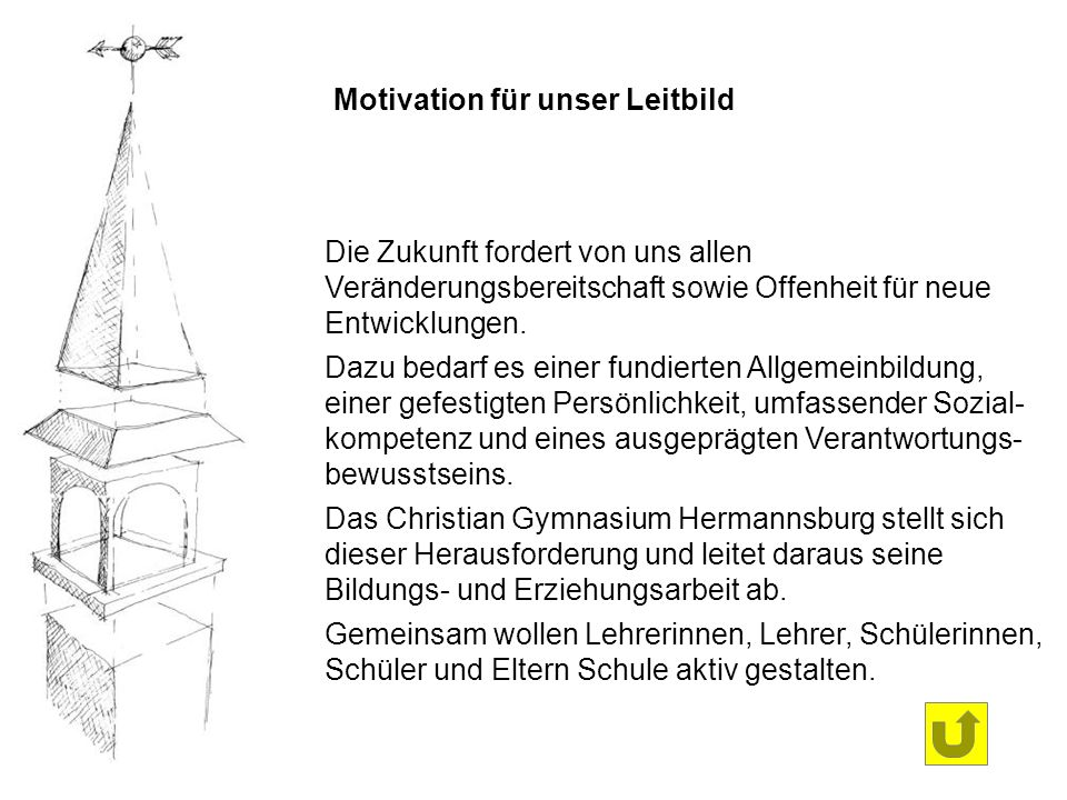 Motivation für unser Leitbild