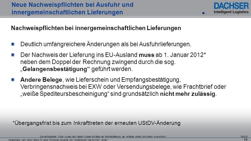 Sihk Hagen Neue Nachweispflichten Bei Ausfuhr Und