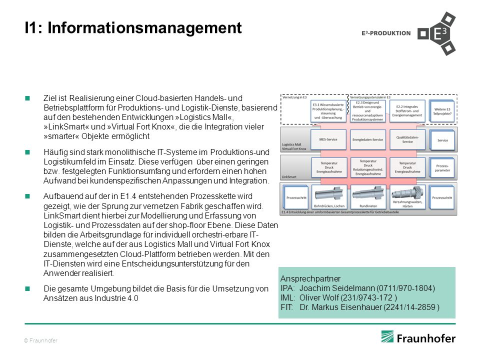 I1: Informationsmanagement