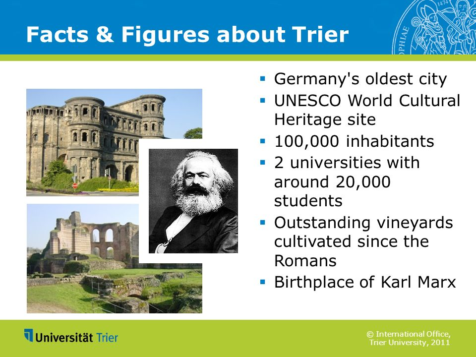 Facts & Figures about Trier