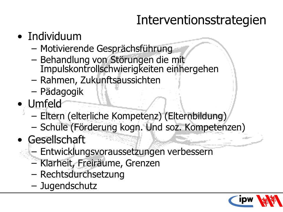Interventionsstrategien