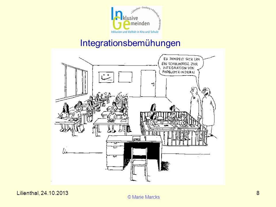 Integrationsbemühungen