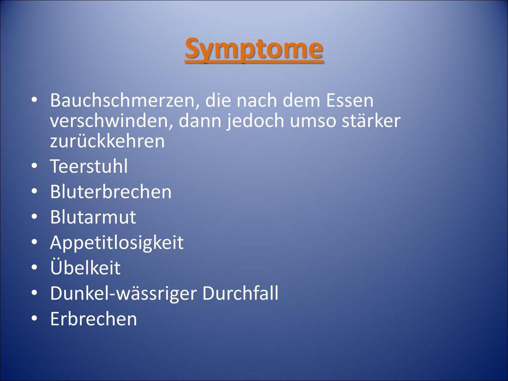 Magenschleimhautentzündung Gastritis Ppt Herunterladen