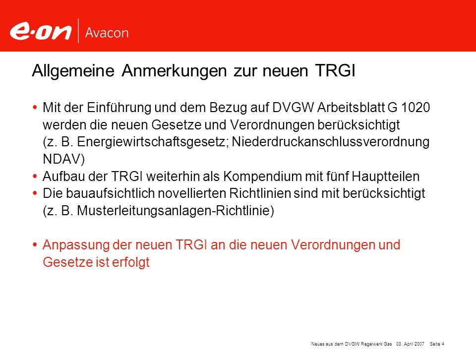 Neues aus dem DVGW- Regelwerk Gas TRGI Einspruchsphase - ppt video ...