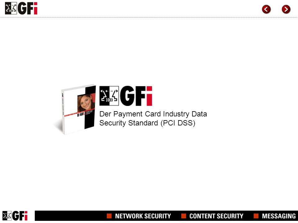 Der Payment Card Industry Data Security Standard (PCI DSS)