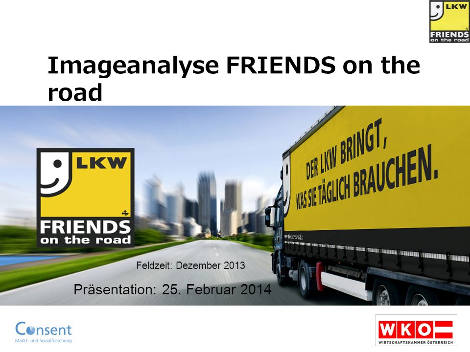 Imageanalyse FRIENDS on the road