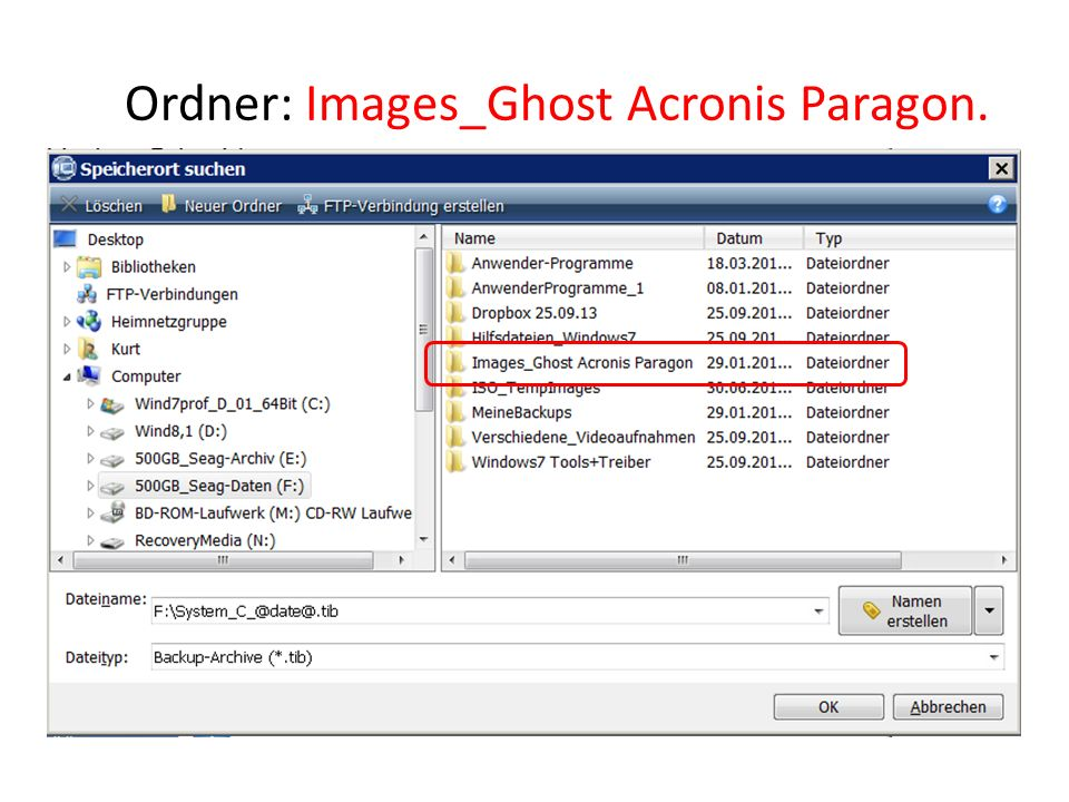 Ordner: Images_Ghost Acronis Paragon.
