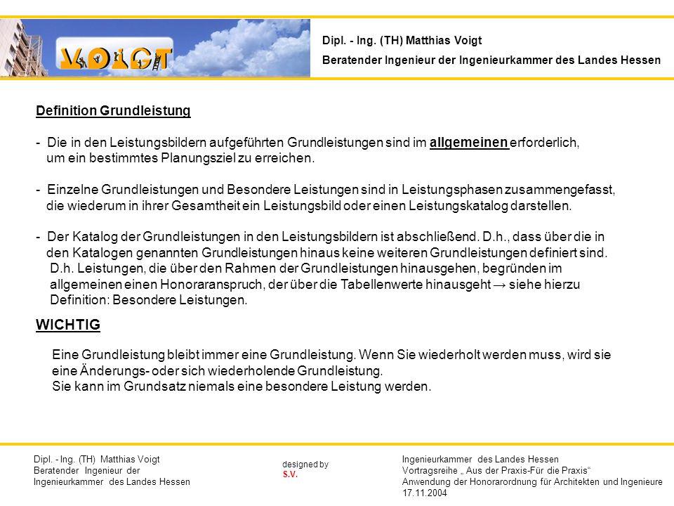 Inhaltsübersicht Dipl. - Ing. (TH) Matthias Voigt - ppt herunterladen
