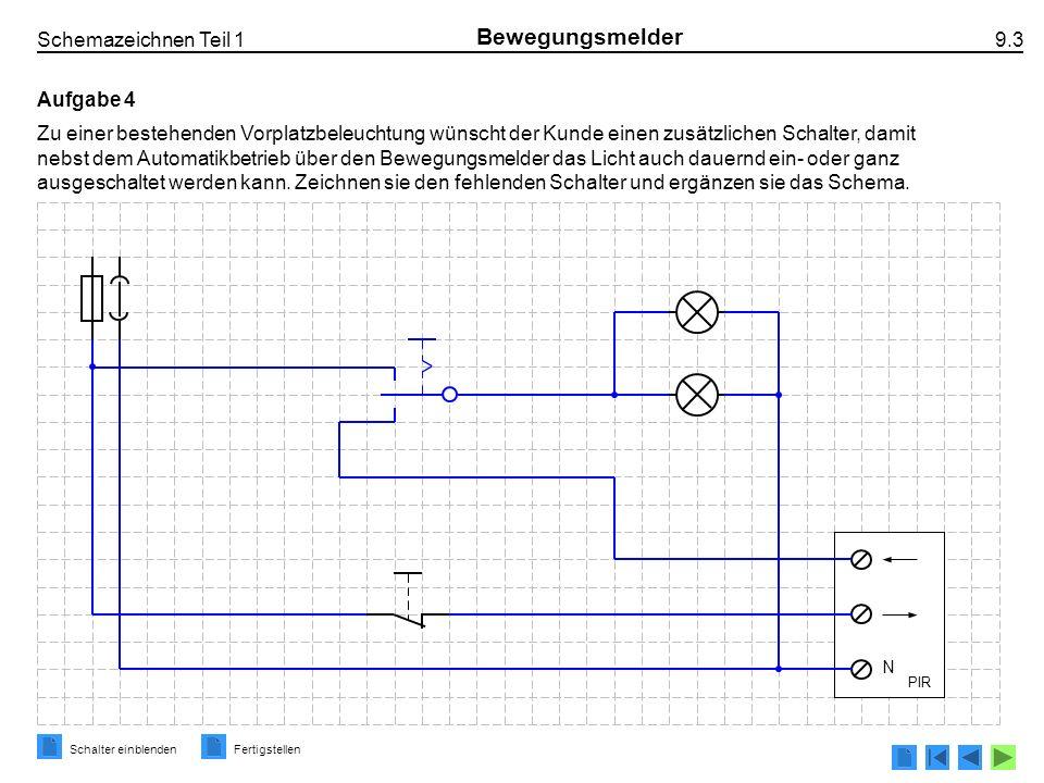 Bewegungsmelder • Passiv-Infrarot-Bewegungsmelder PIR 4-Leiter ...