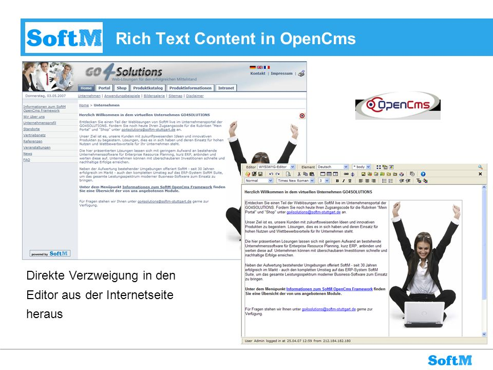 Rich Text Content in OpenCms