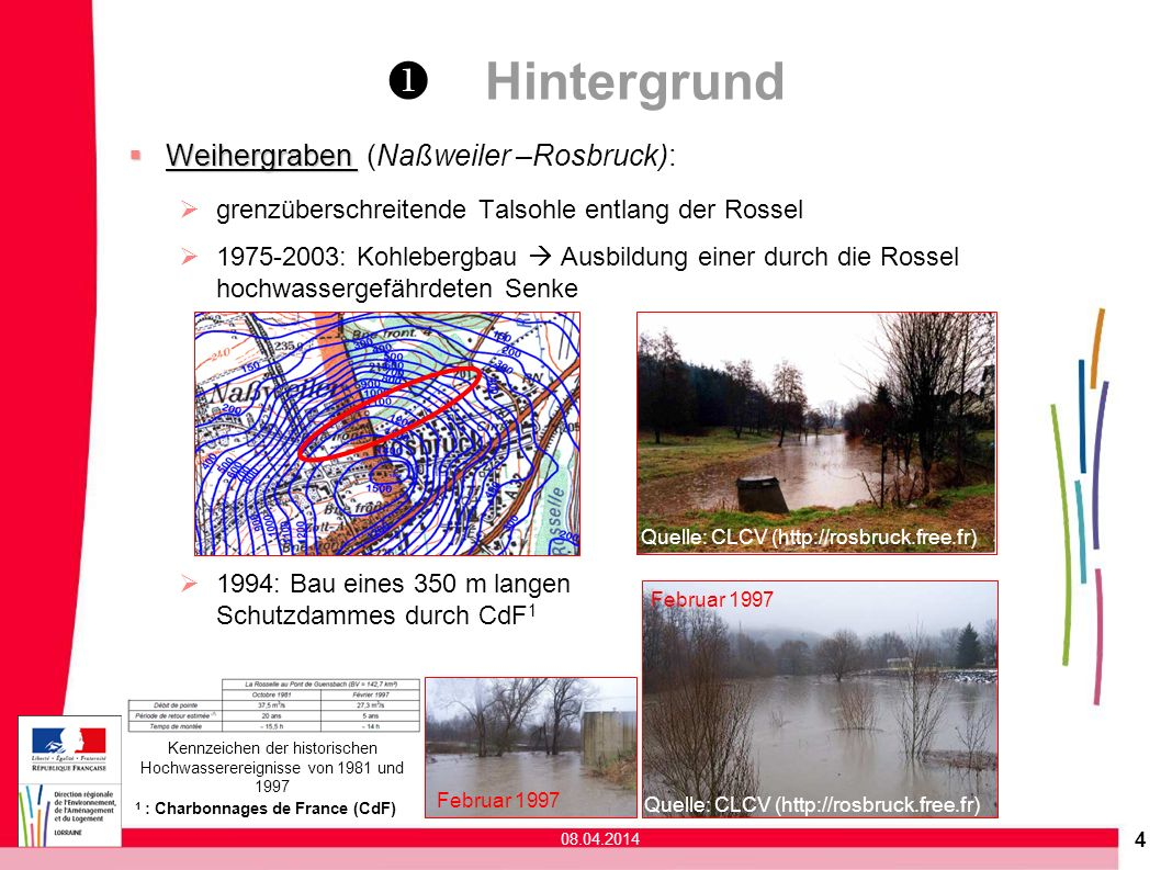 Hochwassergefährdung des Weihergrabens Rosbruck-Naßweiler - ppt ...