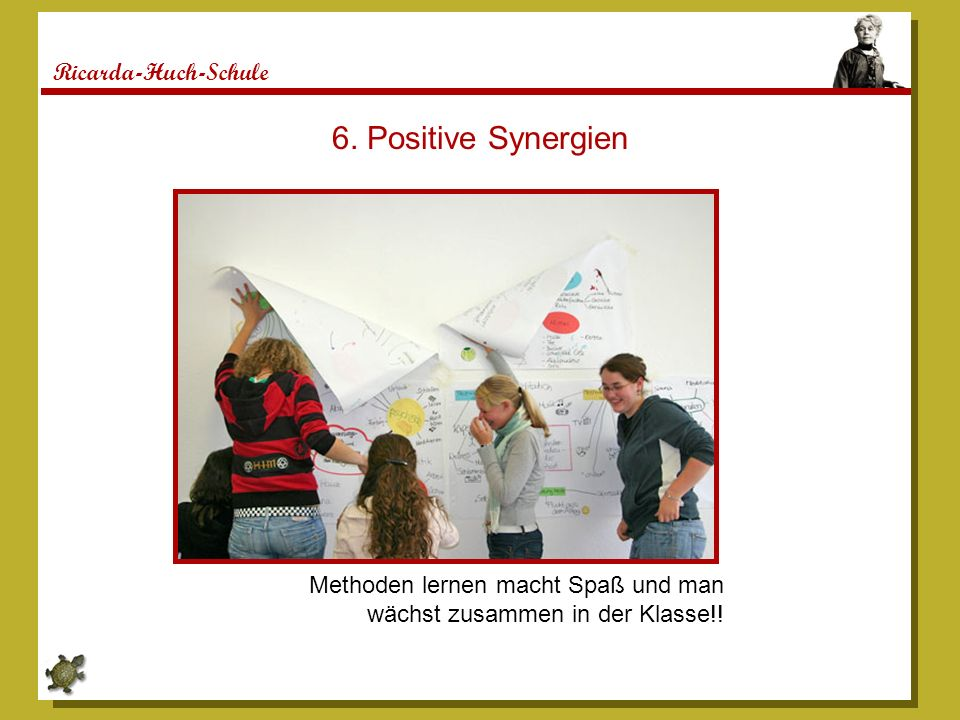 6. Positive Synergien Ricarda-Huch-Schule