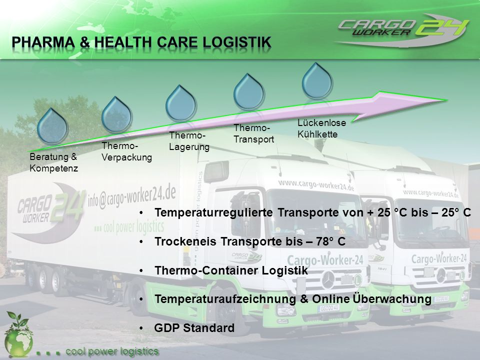 Pharma & Health Care Logistik