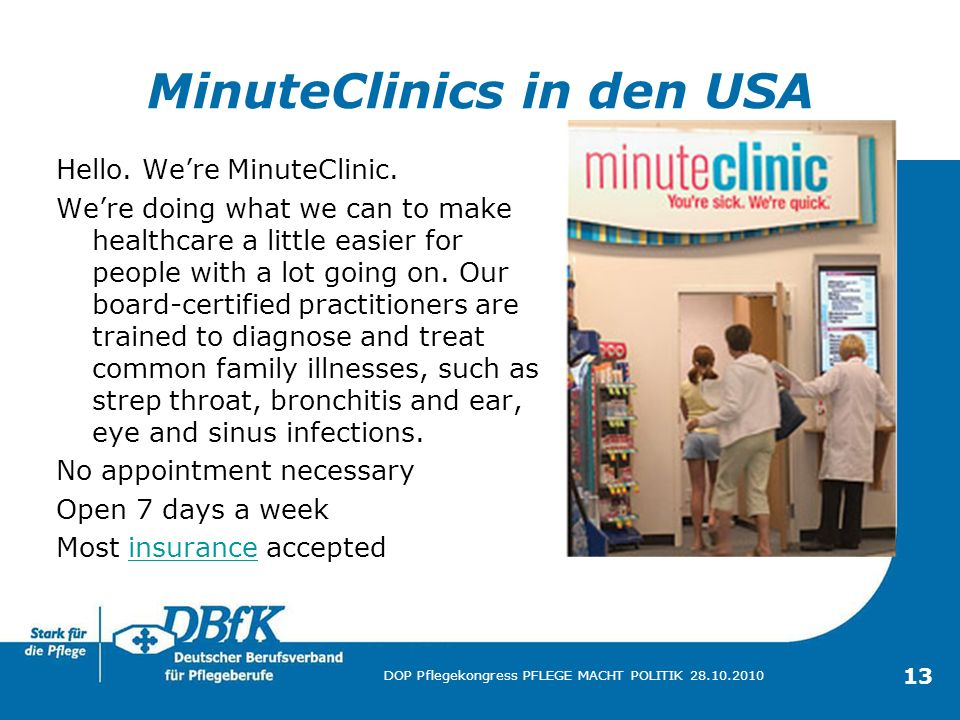 MinuteClinics in den USA