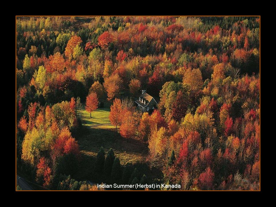 Indian Summer (Herbst) in Kanada