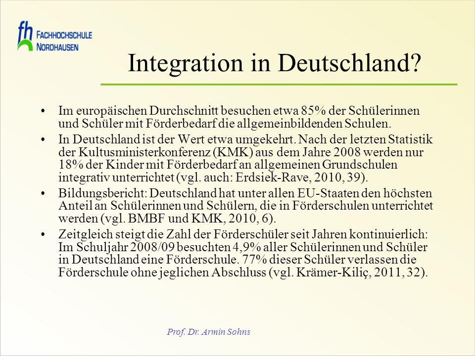 Integration in Deutschland