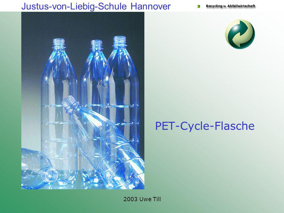 PET-Cycle-Flasche 2003 Uwe Till