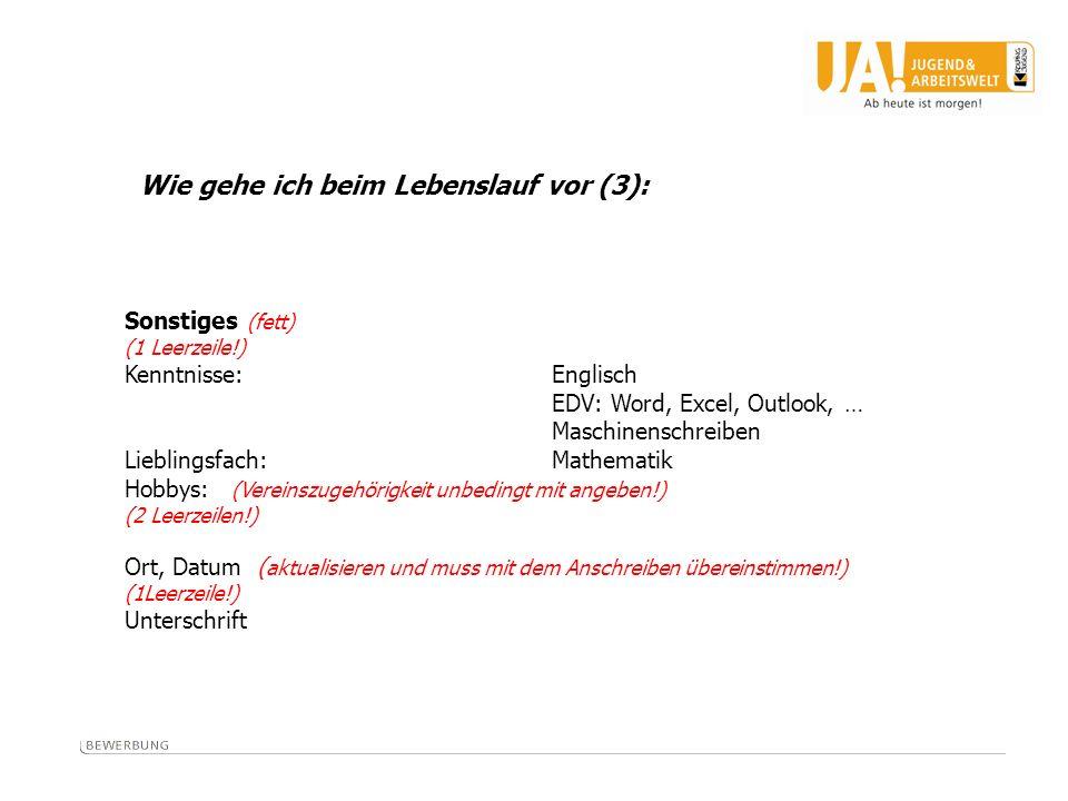 Schriftliche Bewerbung - Deckblatt, Anschreiben, Lebenslauf - ppt ...