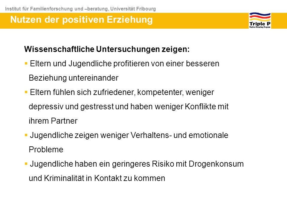 positive emotionale beziehung