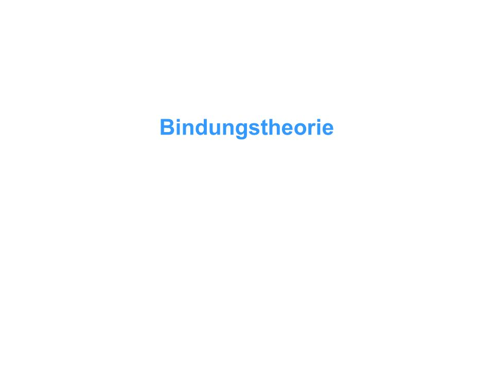 Bindungstheorie