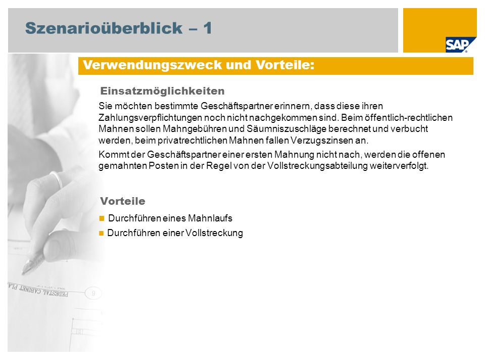 Mahnungen Sap Best Practices For Public Sector Deutschland Ppt