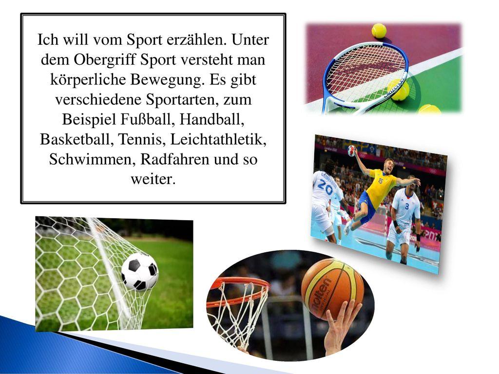 ich will vom sport erzhlen - Auktorialer Erzahler Beispiel