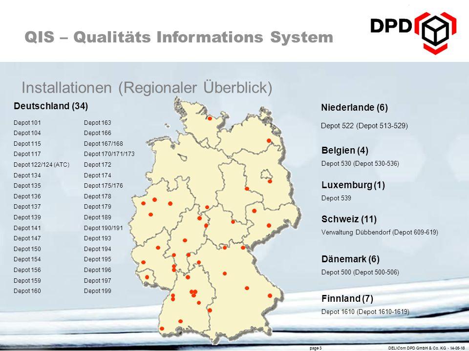 dpd depots deutschland karte DELIQIS3 Schulung (inklusive Linux für QIS)   ppt video online