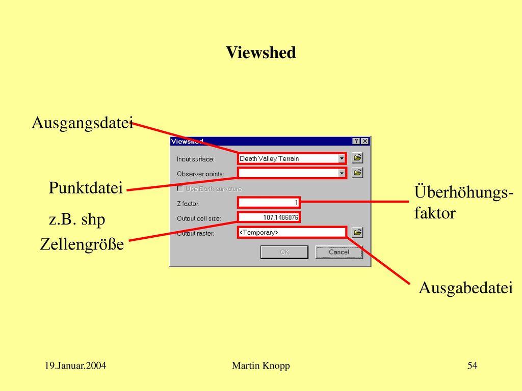 Visualisierung und Analyse - ppt herunterladen