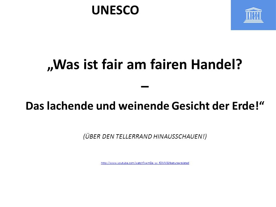 """Was ist fair am fairen Handel –"