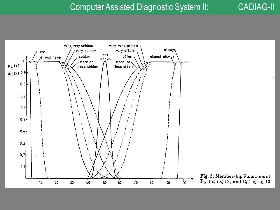 Computer Assisted Diagnostic System II: CADIAG-II