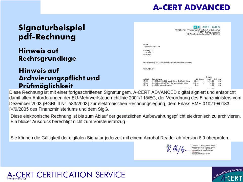 A Cert Certification Service Ppt Herunterladen