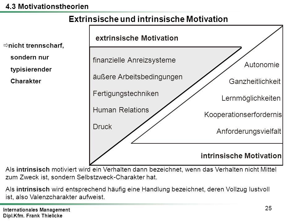 motivation extrinsisch intrinsisch