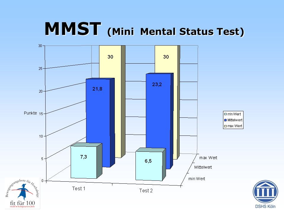 MMST (Mini Mental Status Test)