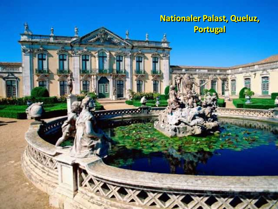Nationaler Palast, Queluz, Portugal