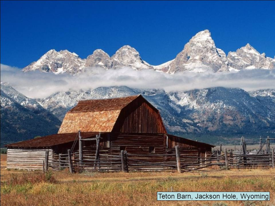 Teton Barn, Jackson Hole, Wyoming