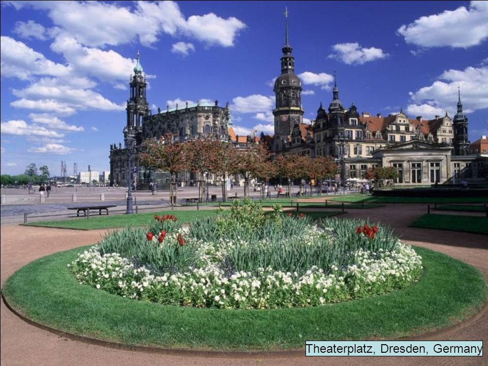 Theaterplatz, Dresden, Germany
