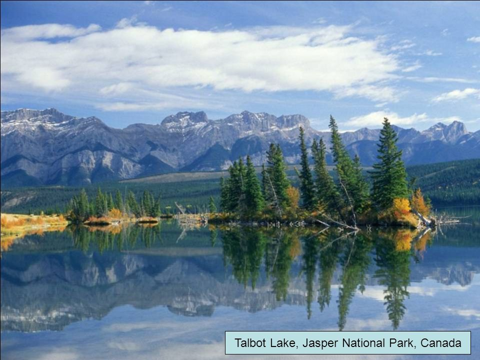 Talbot Lake, Jasper National Park, Canada