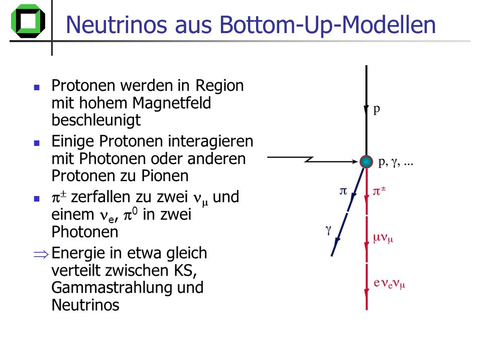 Neutrinos aus Bottom-Up-Modellen