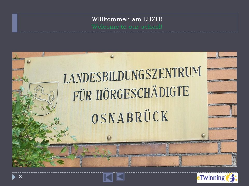 Willkommen am LBZH! Welcome to our school!