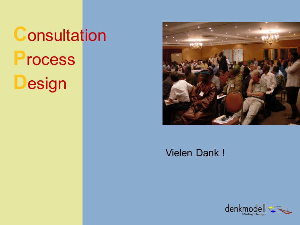 Consultation Process Design