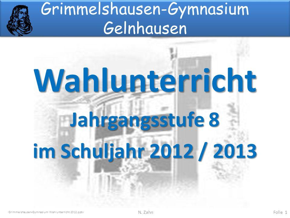 Grimmelshausen-Gymnasium Gelnhausen - ppt herunterladen