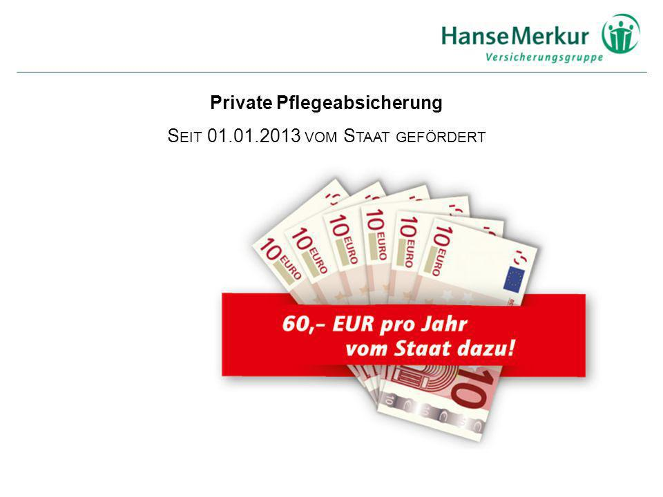 Private Pflegeabsicherung