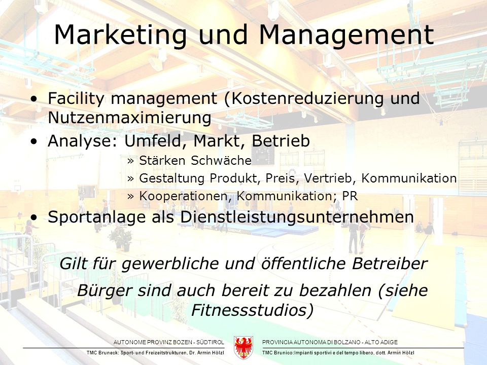 Marketing und Management