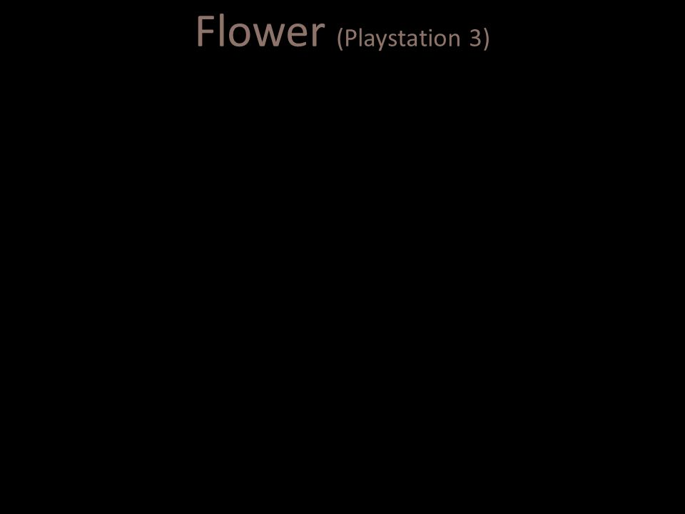 Flower (Playstation 3)
