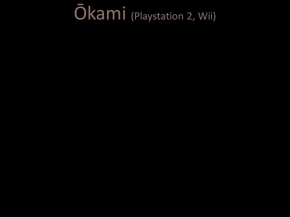 Ōkami (Playstation 2, Wii)