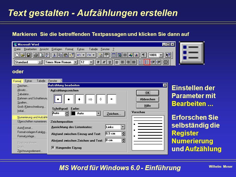 Herzlich willkommen ! MS Word für Windows Einführung - ppt video ...