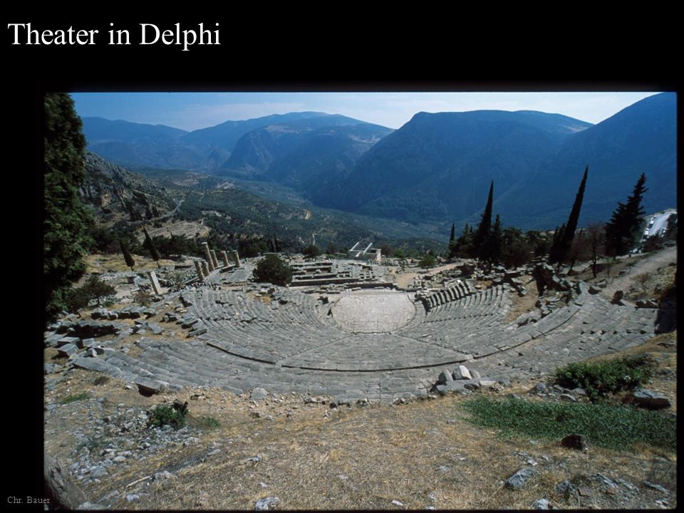 Theater in Delphi Chr. Bauer