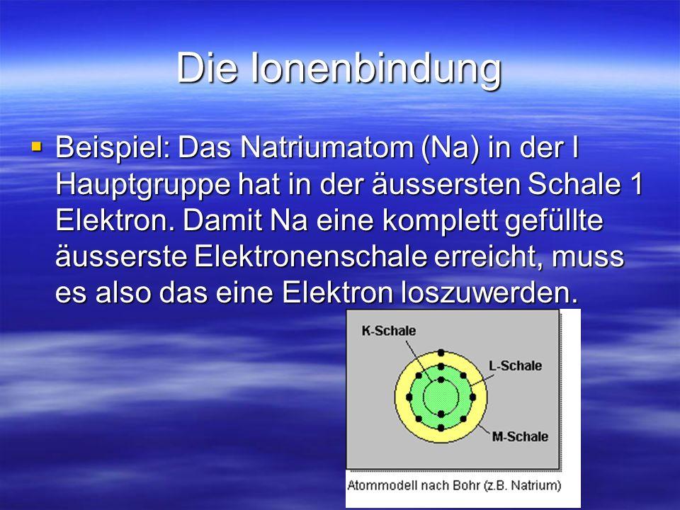 Ionen-, Molekül- und Metallbindungen - ppt video online herunterladen