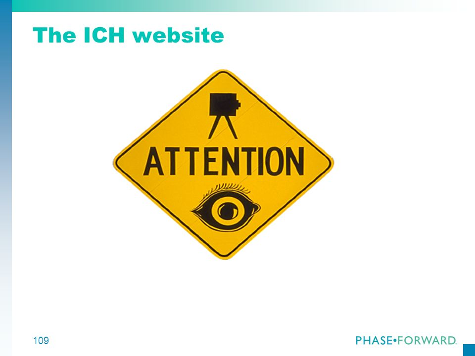 The ICH website